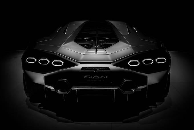 Sian, Lamborghini Sian