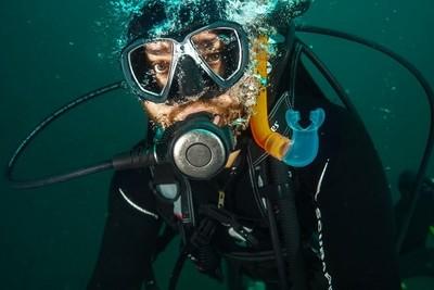 Black sea diver