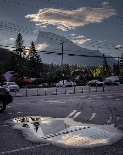 #4416 Banff carpark