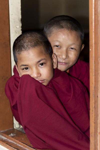 Nepalese monks