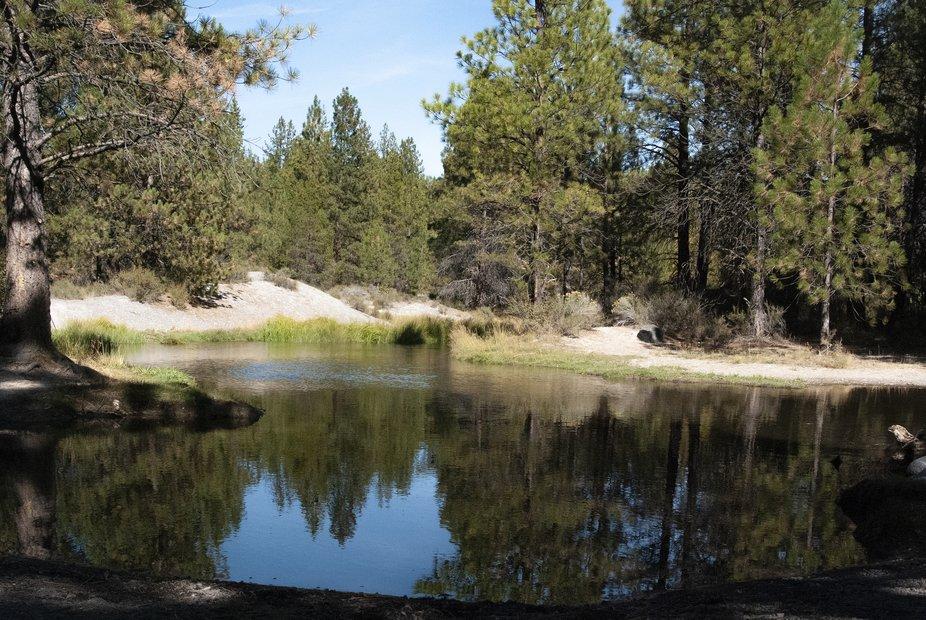 Paulina Creek, Peter Skein Ogden, La Pine, Oregon