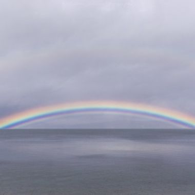 This is the most beautiful rainbow I have ever seen.