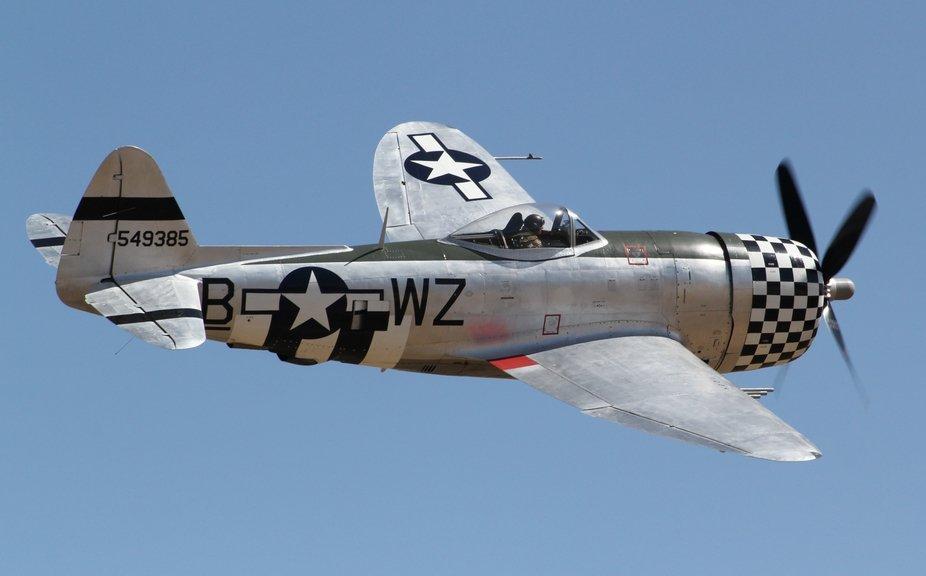 P-47 Thunderbolt at the Pikes Peak Airshow