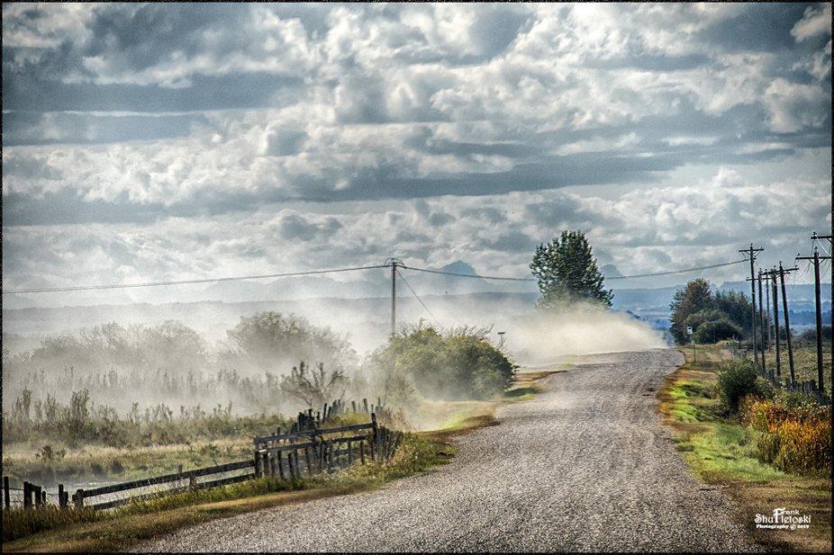 Rural Alberta Roads