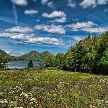 Jordan Pond -Acadia National Park