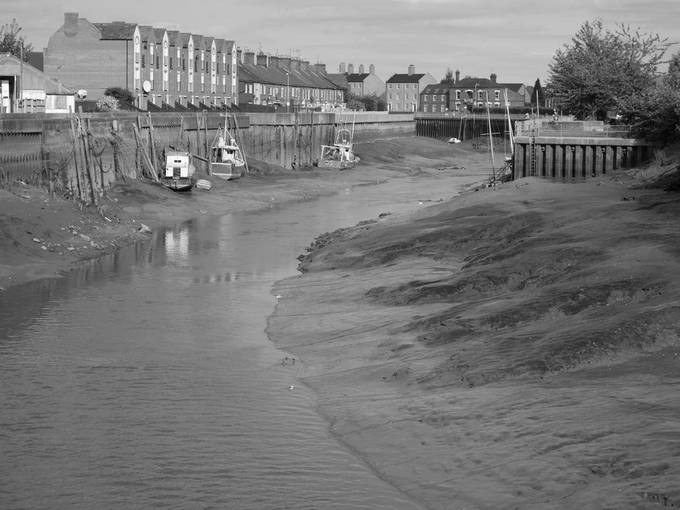 River Witham at Boston Harbour.