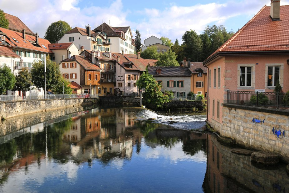 The river Orbe