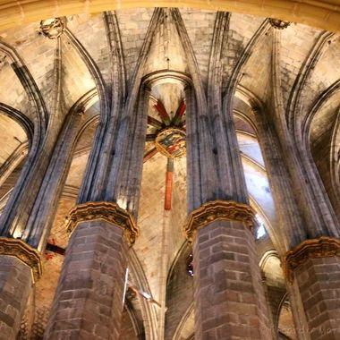 Iglesia de Santa María del Mar, Barcelona, Spain