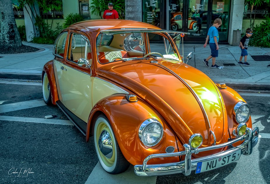 Captured at the VW street festival, Coral Gables, FL