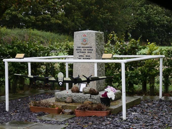Bomber county memorials.
