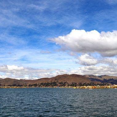 Lake Titiqaqa, Perú