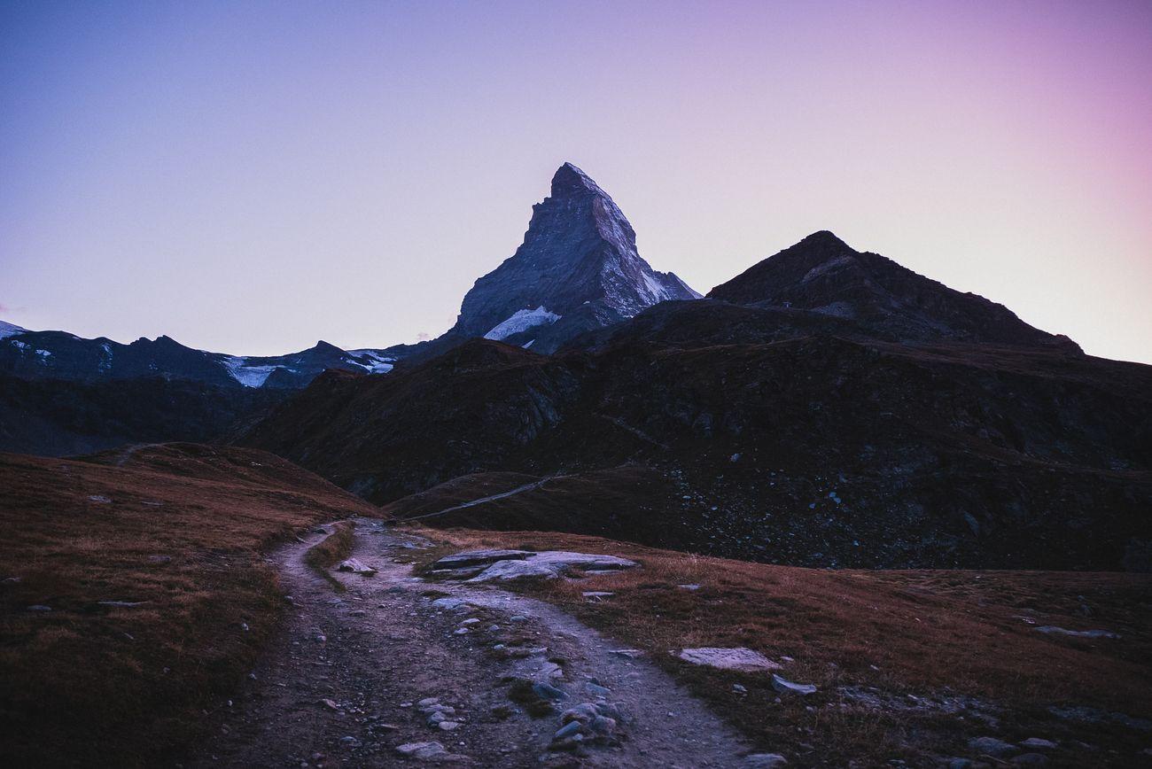 Purple Matterhorn