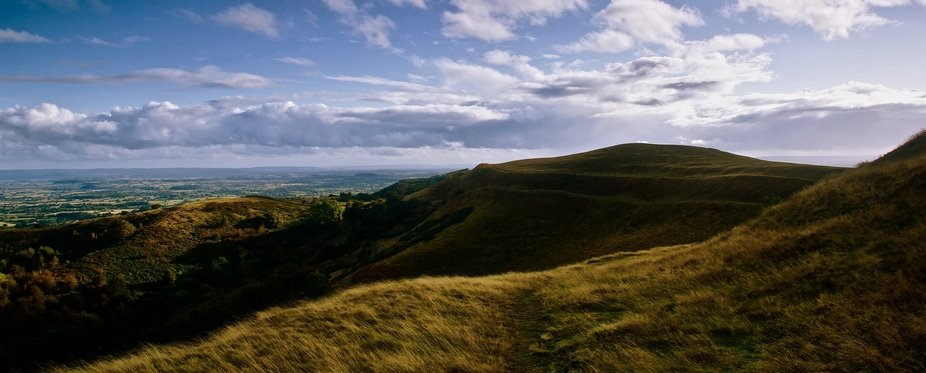 British Camp is an Iron Age Hill fort on the Hereford Beacon, Malvern Hills.