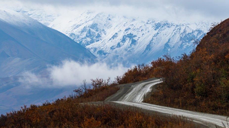 Denali National Park - Sept 2019. Terminal dust on the Alaska Range. 2019 Road Lottery winner all...