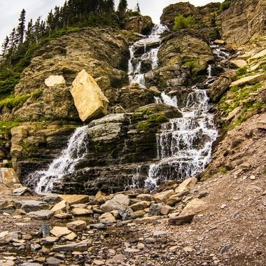 If you're into waterfalls, you can get your fill in Glacier.