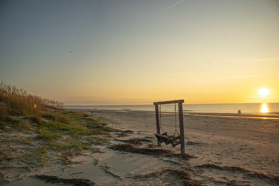 Sunrise at Tybee Island, GA