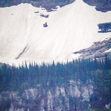 One of the many great spectacles in Glacier...
