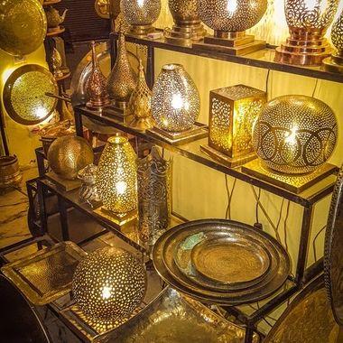 Market Stall, Marrakech, Morocco.