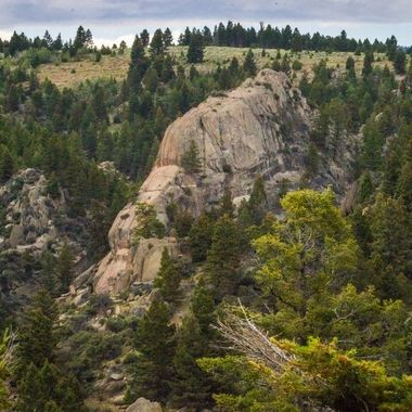 Trophy Rock, on the way back from Bozeman