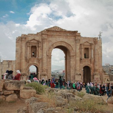 Image captured at Jerash, Amman, Jordan.