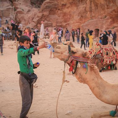 Image captured during a visit to Petra, Jordan.