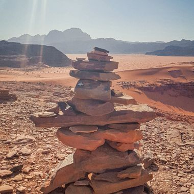 Image captured in the Wadi Rum Desert, Jordan.