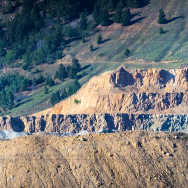 Once dubbed the richest hill in the world is the source of many mining ores, but the most common is copper. The hill is beautiful and the dirt is just an amazing reddish coloration.   Many of my photos are for sale, please click over to my photography store and take a peek. I have something for just about anyone who loves nature.