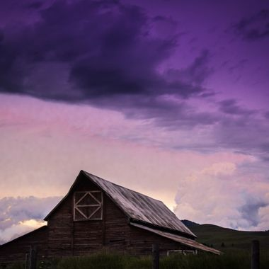 A nice picture of the farm house behind the Montana Grizzly Encounter in Bozeman, MT.   Many of my photos are for sale, please click over to my photography store and take a peek. I have something for just about anyone who loves nature.