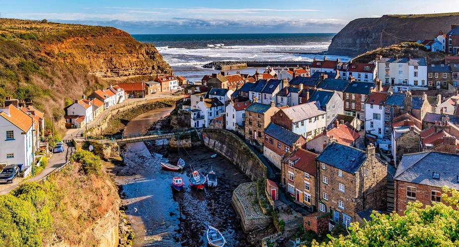 Staithes, Northyorkshire.