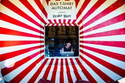 Das T-Shirt Automat