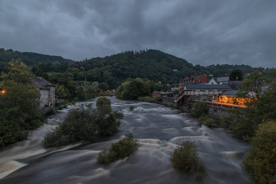 Llangollen  Denbighshire  North Wales