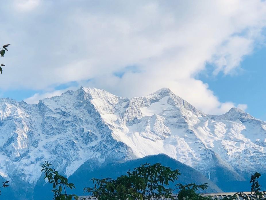 Fresh snow /Mount Currie / pemberton b.c.