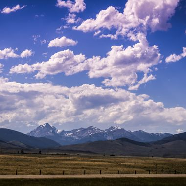 View of the mountains on our way to Wise River along the 15 freeway south out of Butte.  Many of my photos are for sale, please click over to my photography store and take a peek. I have something for just about anyone who loves nature.