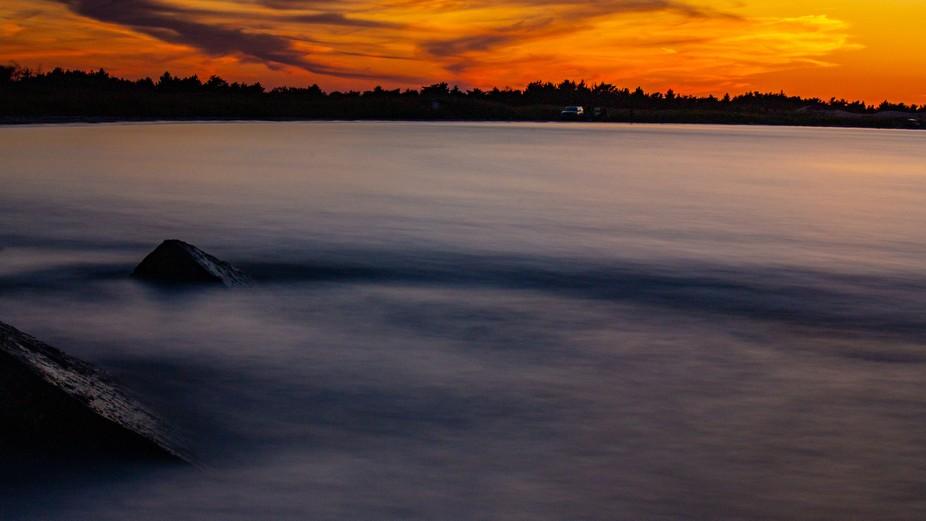 Taken during sunset at Robert Moses State Park