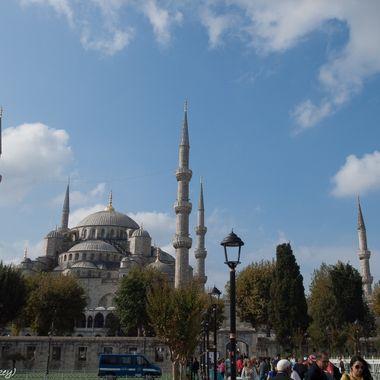 Sta.Sofia (Estambul). Hoy Mezquita, antes Basilica o Catedral de Sta.Sofia.