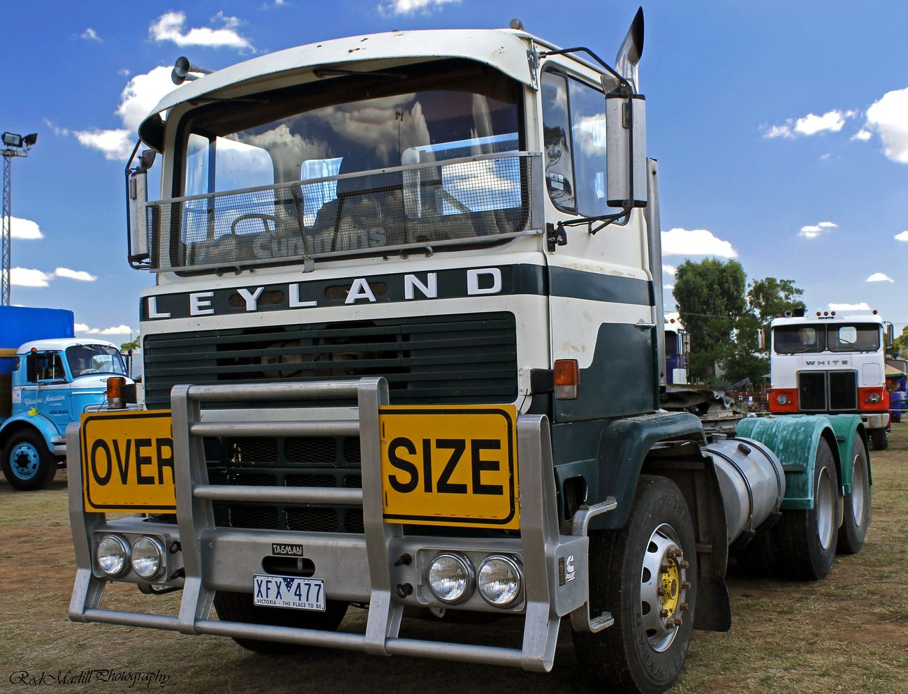 A cabover Leyland ,don't see many of these around since the 70's.