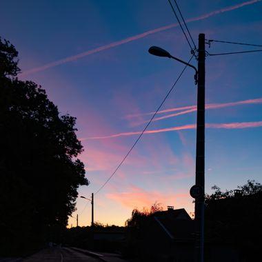 Sleeping streets at dawn.