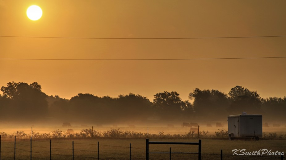 happen to look out the window this morning an saw the fog. Where i live we get some interesting f...