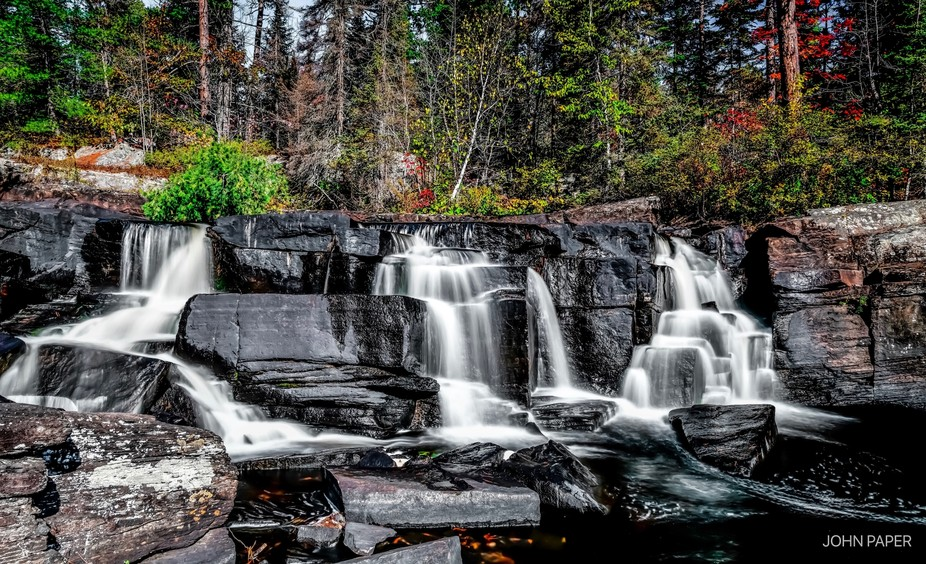 Took a drive to Bissett Creek and Falls this morning. Not much water flowing over the falls but j...