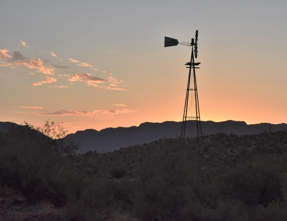 Near Picket Post Mt., AZ
