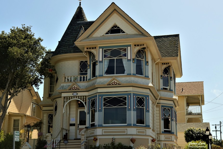 The town of Pacific Grove is known for it's victorian architecture.  This historical hom...