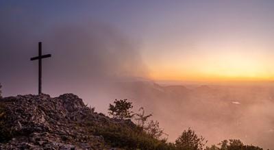 Misty Sunset