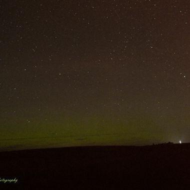 Shooting Stars and Northern Lights