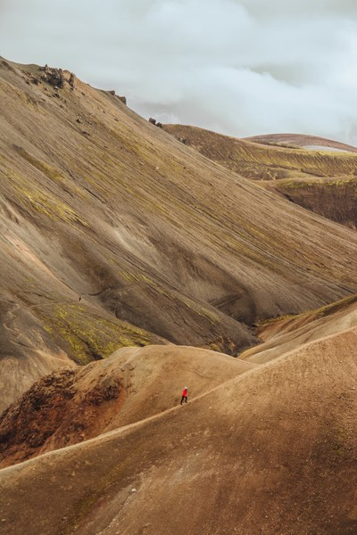 Wandering in Landmannalaugar