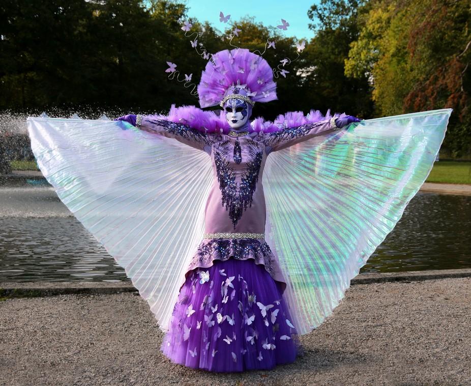 Venetian costume parade