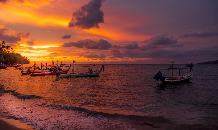 Bang Tao Bay Sunset