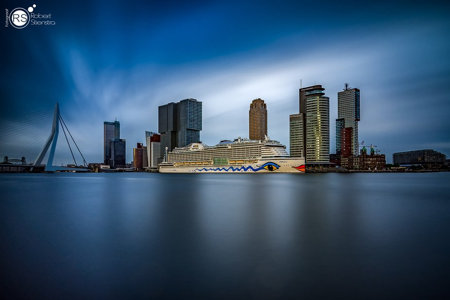 This is the cruiseterminal in Rotterdam, I come here on a regular basis, because this is an amazi...