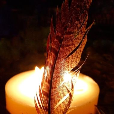 Feather and fire
