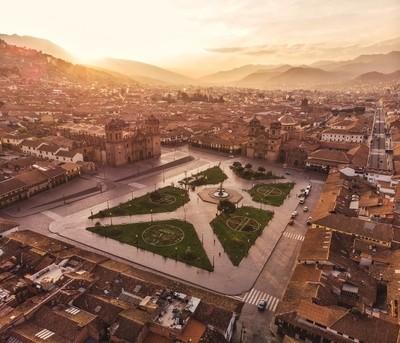 Sunrise in Cusco, Peru