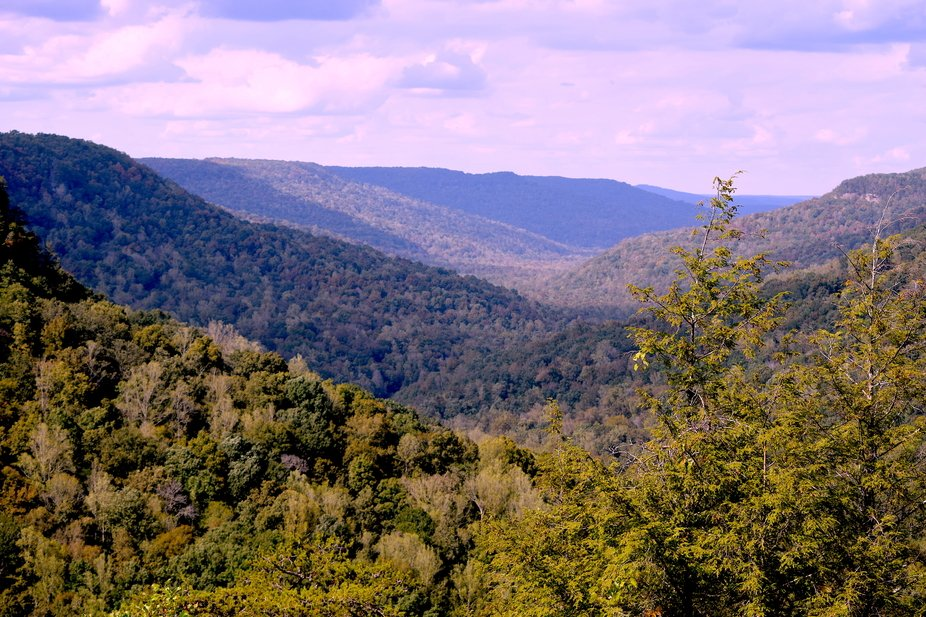Fall Creek Falls - Tennessee State Park - Spencer, TN  The trees have not yet turned it is Octobe...